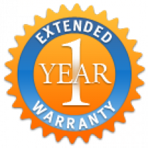 One Year Extended Warranty - Parts and Labor